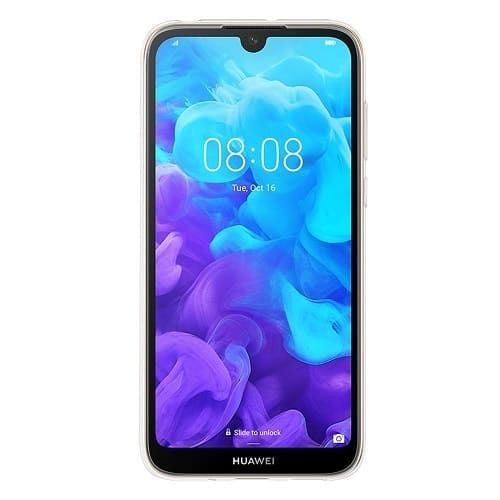 Калъф Huawei Y5 2019 Flexible Clear Case Transparent-1