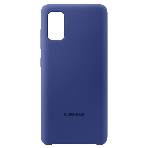 Калъф Samsung Galaxy A41 Silicone Cover PA415TL Blue