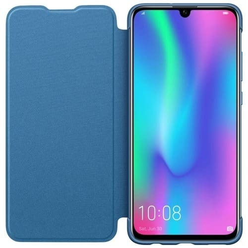 Калъф за Honor 10 Lite Flip Cover Blue-2