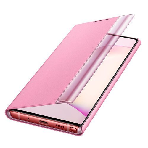Калъф за Samsung Galaxy Note 10 Clear View Cover EF-ZN970CP Pink-1