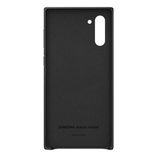 Калъф за Samsung Galaxy Note 10 Leather Cover EF-VN970LB Black-3