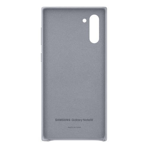 Калъф за Samsung Galaxy Note 10 Leather Cover EF-VN970LJ Gray-3