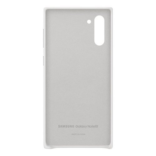 Калъф за Samsung Galaxy Note 10 Leather Cover EF-VN970LW White-3