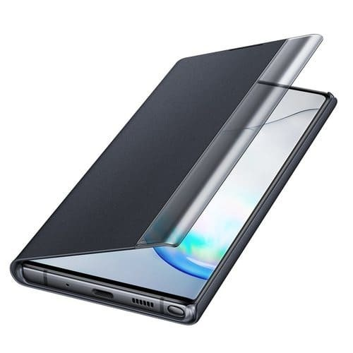 Калъф за Samsung Galaxy Note 10 Plus Clear View Cover EF-ZN975CB Black-1