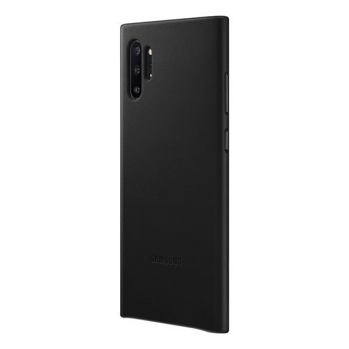 Калъф за Samsung Galaxy Note 10 Plus Leather Cover EF-VN975LB Black-1