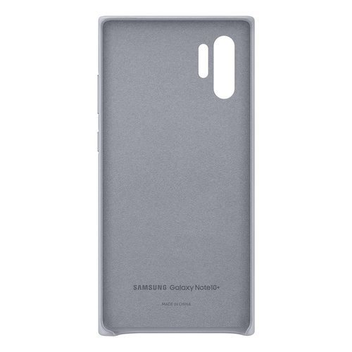 Калъф за Samsung Galaxy Note 10 Plus Leather Cover EF-VN975LJ Gray-3