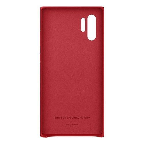 Калъф за Samsung Galaxy Note 10 Plus Leather Cover EF-VN975LR Red-3