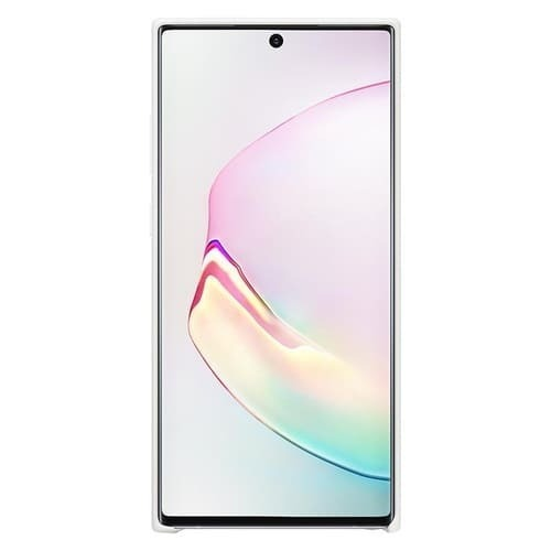 Калъф за Samsung Galaxy Note 10 Plus Silicone Cover EF-PN975TW White-2