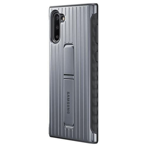 Калъф за Samsung Galaxy Note 10 Protective Standing Cover EF-RN970CS Silver-1