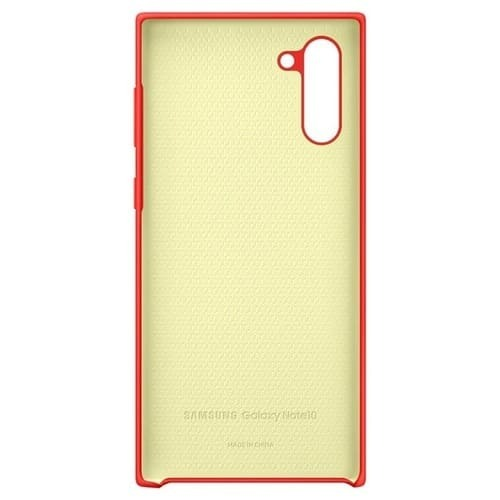Калъф за Samsung Galaxy Note 10 Silicone Cover EF-PN970TR Red-3