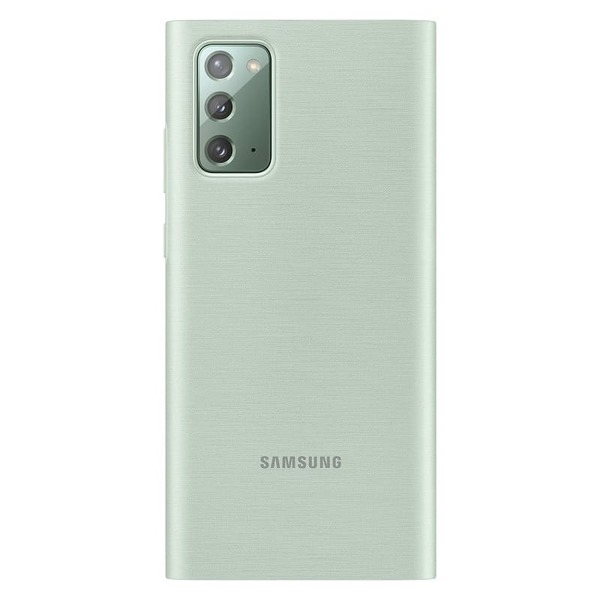 Калъф за Samsung Galaxy Note 20 Clear View ZN980CM Green-2