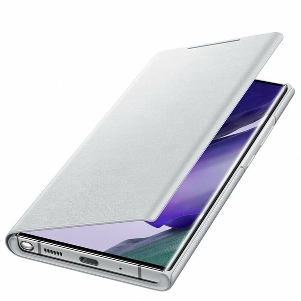 Калъф за Samsung Galaxy Note 20 Ultra 5G LED View Cover EF-NN985PS Silver-1