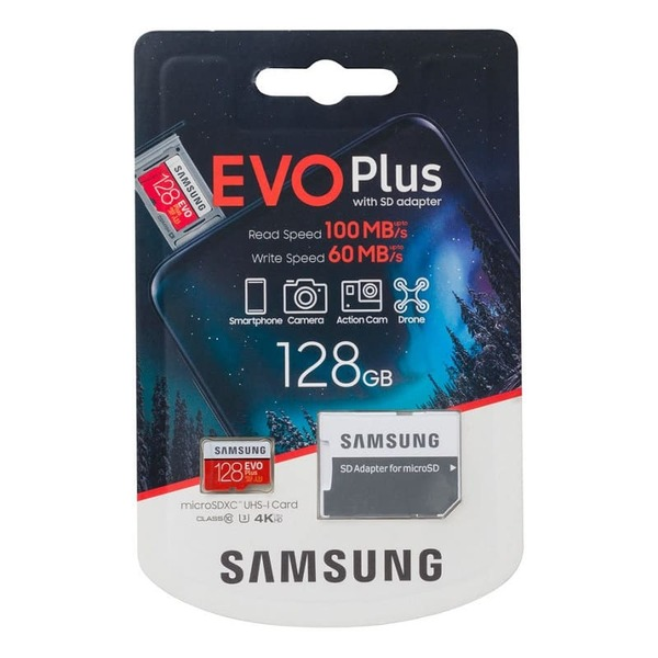 Карта памет Samsung EVO+ micro SD 128GB MC128HA-3