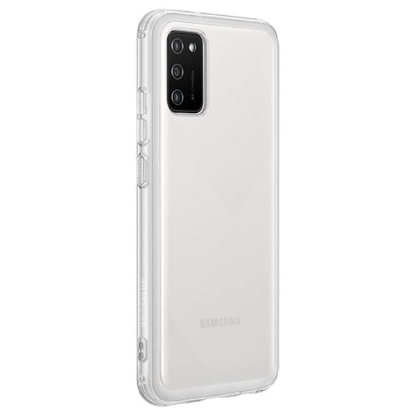 Силиконов калъф за Samsung Galaxy A02s Soft Clear Cover QA026TT Transparent-2