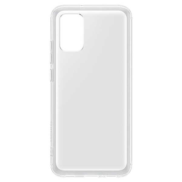 Силиконов калъф за Samsung Galaxy A02s Soft Clear Cover QA026TT Transparent-3