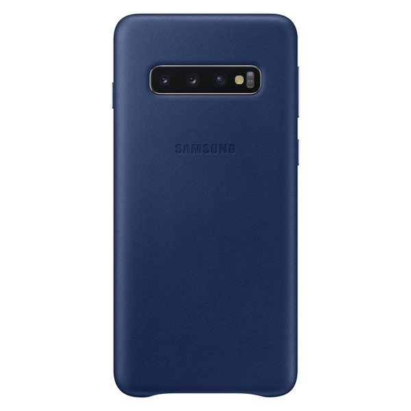 Калъф Samsung S10 Leather Cover Navy