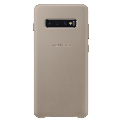Калъф Samsung S10+ Leather Cover Gray