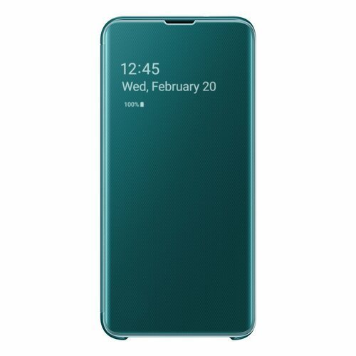 Калъф Samsung S10e Clear View Cover ZG970CG Green
