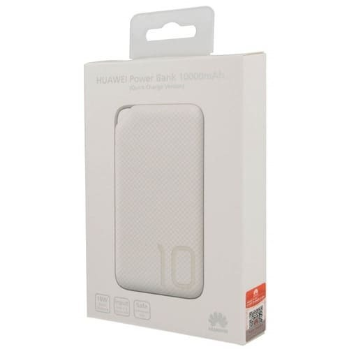 Външна батерия Huawei AP08Q Quick Charge Power Bank 10000 mAh White-2