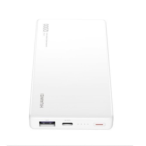 Външна батерия Huawei CP12S SuperCharge 40W Power Bank 12000 mAh White-1